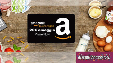 Prime Day: Amazon ti regala 20€ di sconto!