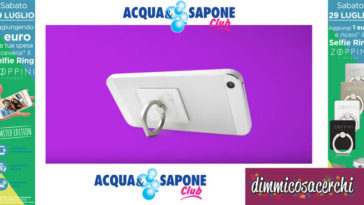 Selfie Ring Zoppini da Acqua&Sapone