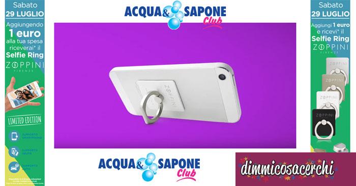 Selfie Ring Zoppini da Acqua&Sapone