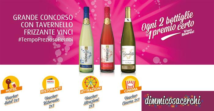 Tavernello: ogni 2 bottiglie un premio certo (e concorso)
