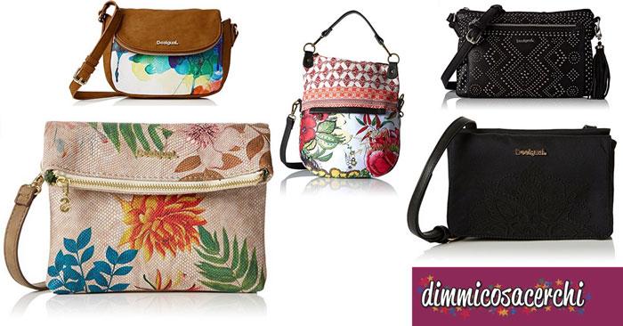 prodotti di qualità fashion design Super carino Borse Desigual in super offerta su Amazon   DimmiCosaCerchi