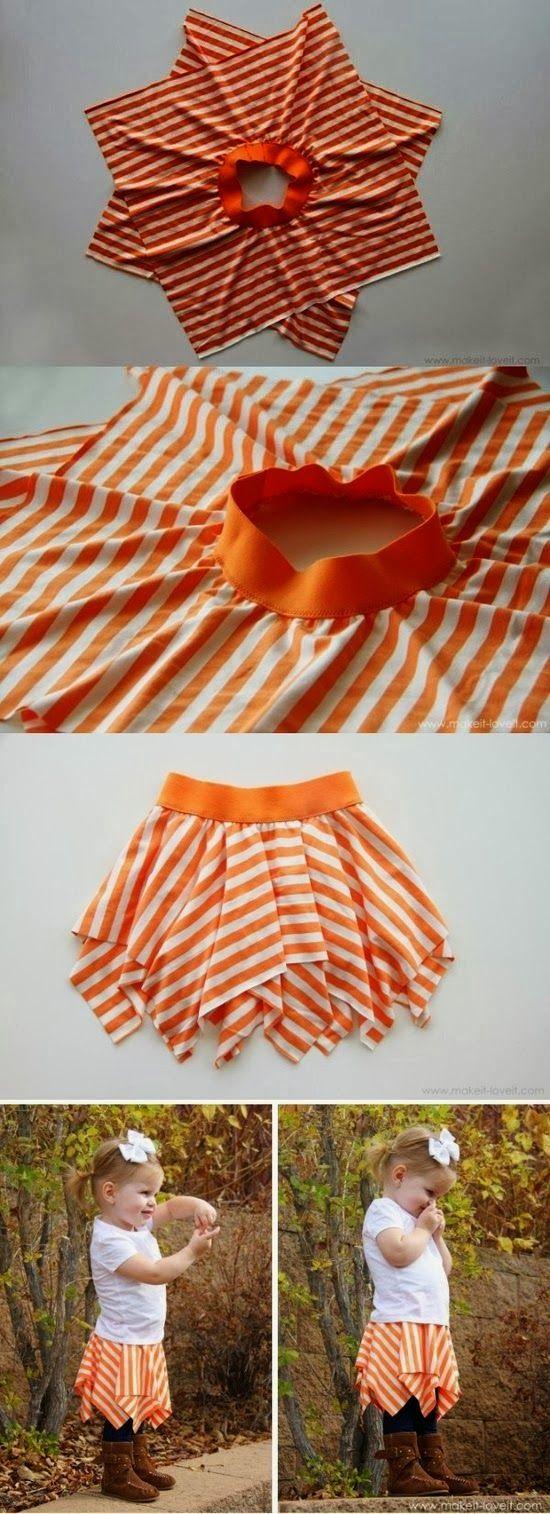 idee per riciclare vestiti bambini