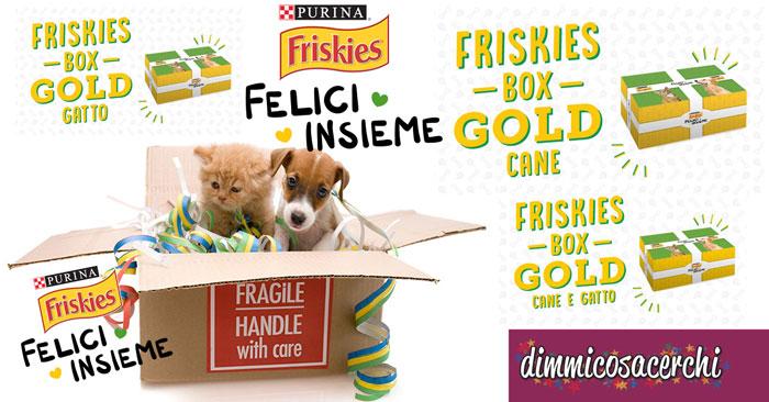 Felici Insieme Friskies: per te buoni sconto e prodotti omaggio