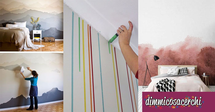 pitturare le pareti di casa spendendo poco