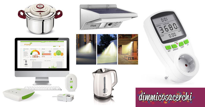 10 oggetti per risparmiare sui consumi di casa