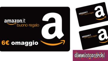 Buono regalo Amazon omaggio come riceverlo