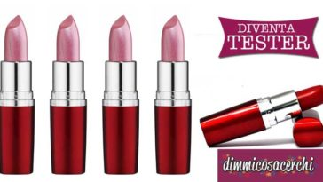 Diventa tester rossetti Maybelline Hydra Extreme
