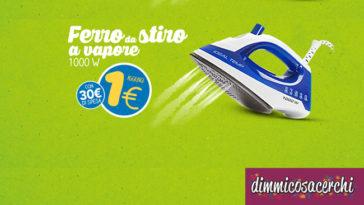 Ferro da stiro da Eurospin a solo 1€!