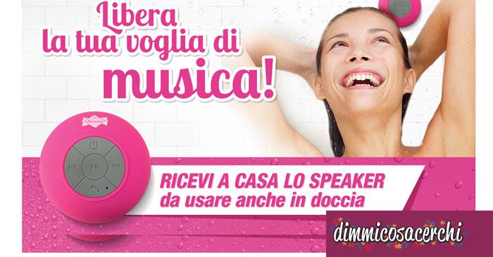 Premio certo Nuvenia: speaker da doccia