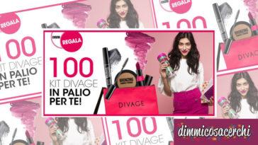 Vinci 100 Kit makeup Divage con il concorso Cosmopolitan