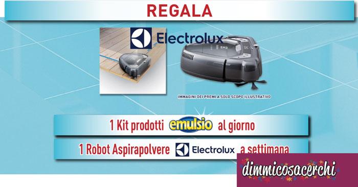 Vinci robot Electrolux con Emulsio