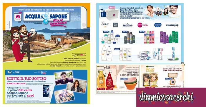 Nuovo Volantino Acqua&Sapone di Agosto/Settembre