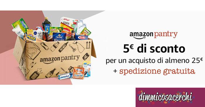 Doppio sconto Amazon Pantry
