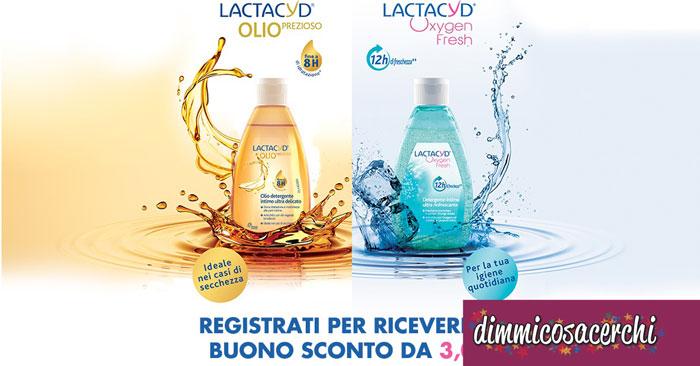 Lactacyd ti regala un buono sconto da 3€