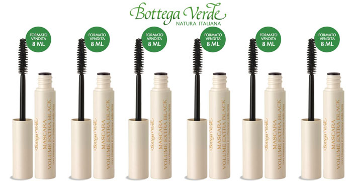 Mascara Bottega Verde omaggio per le clienti