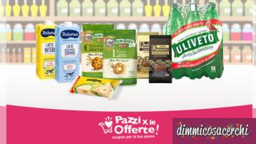 Nuovi coupon digitali: Mulino Bianco, Uliveto, Arborea, Pernigotti