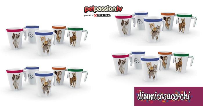 Purina ti regala una tazza con gatto stampato