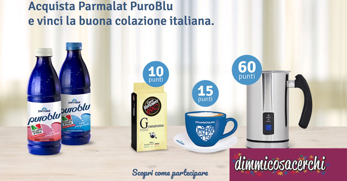 Raccolta punti Parmalat PuroBlu: scopri i premi!