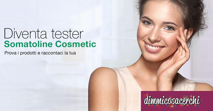 Somatoline Cosmetics: diventa tester dei prodotti