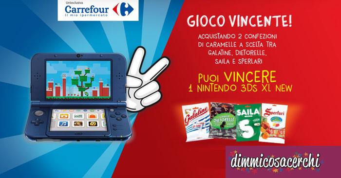 Sperlari gioco vincente: vinci Nintendo 3DS XL