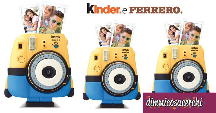 Vinci 100 fotocamere al giorno con Kinder e Ferrero