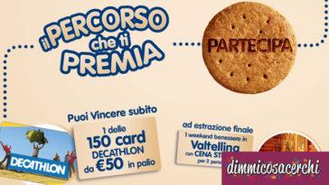 Vinci con Galbusera: soggiorni e buoni spesa