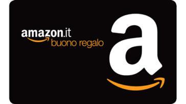 8€ omaggio con Amazon se ricarichi adesso