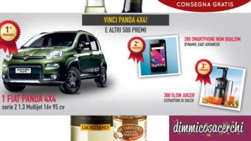 Con Giordano Vini vinci Fiat Panda 4x4