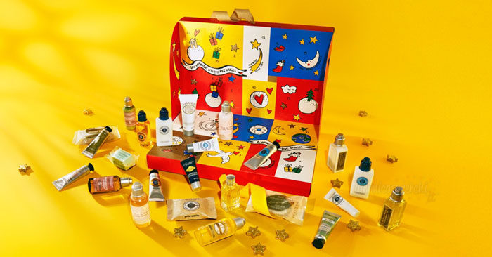 Calendario dell'Avvento L'Occitane: