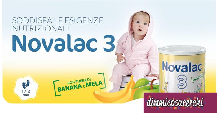 Campioni omaggio Latte Novalac + buoni sconto