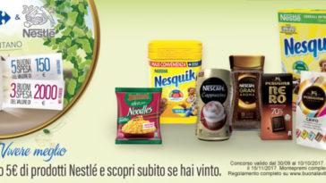 Concorso Nestlè da Carrefour Iper
