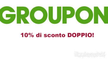 GROUPON SCONTO DOPPIO