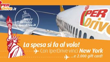 Happy Birthday IperDrive! Vinci tanti buoni spesa