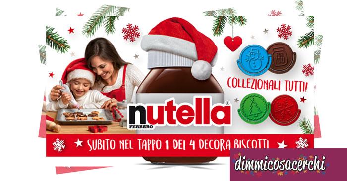 Stampini per biscotti Nutella in regalo