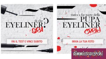 Vinci eyeliner Crew by Pupa con Cosmopolitan