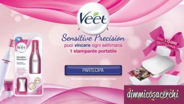Vinci stampanti portatili con il nuovo concorso Veet