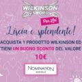 Wilkinson per lei ti regala 1 buono sconto Nomination