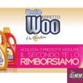 Woolite ti rimborsa il 2° prodotto acquistato