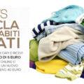 OVS ricicla i tuoi abiti usati