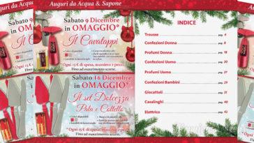 Acqua&Sapone: omaggi per Natale alle clienti