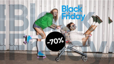 Black Friday Pompea: sconti fino al 70%