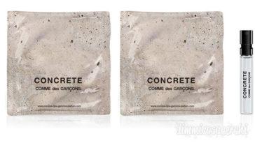 Campione omaggio Concrete by Comme des Garcons