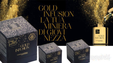 Campione omaggio Gold Infusion Diego dalla Palma