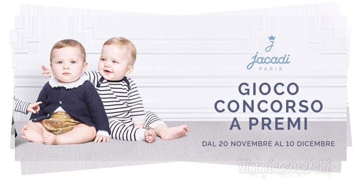 Concorso Jacadi Paris: vinci un corredino per il tuo bambino