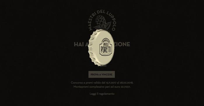 """Concorso """"Maestri del Luppolo"""" Angelo Poretti: vinci subito!"""
