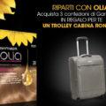 Garnier Olia ti regala il trolley cabina Roncato