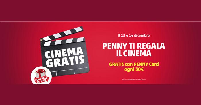Penny Market ti regala un buono cinema