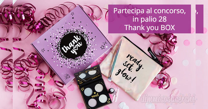 Vinci subito la Thank you BOX di essence