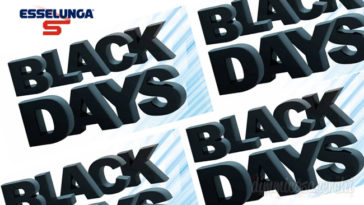 Supermercati Esselunga: arrivano i Black Days!