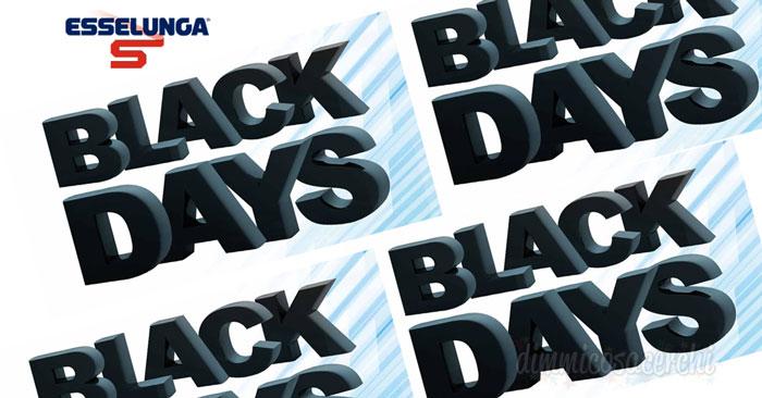 Supermercati Esselunga: arrivano i Black Days!